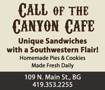 Call of the Canyon - Unique Sandwiches with a Southern Flair