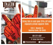 BGSU Falcon Team Store