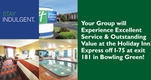 Stay at the Holiday Inn